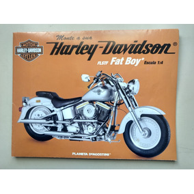 Poster Harley Davidson Planeta Deagostini Fat Boy