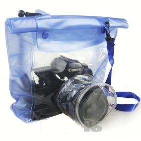 Capa Bolsa Estanque Prova Dágua Sony Nikon Canon