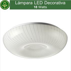 Luminaria Decorativa 18w Sobreponer Techo Foco Cocina