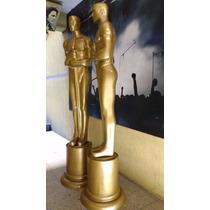 Oscar Estatua Gigante Figura De Fibra De Vidrio