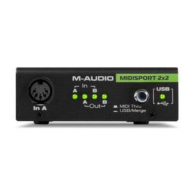Ma99005253700 | Interfaz Audio M-audio Midisport 2x2 Avid