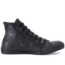 Tênis Converse All Star Ct As Monochrome Leather Hi Preto Pr