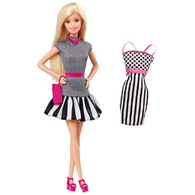 Kit Barbie Fashionistas 2015 Nº 01 + Roupinha Vestido