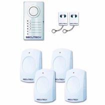 Alarma Inalambrica De 4 Sensores, Secutech