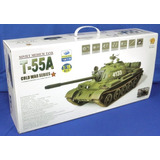 * Raro* Tanque T-55a Rooben 1/16 P/ Rádio Controle