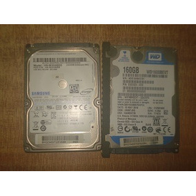 Disco Duro Laptop 160 Y 320 Gb 12 Y 14 Palos