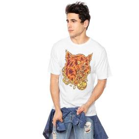 Camiseta Hurley Wolf Masculina - Branca - M 761c9dccf0e