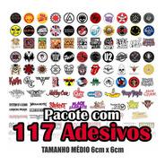 Kit Adesivos Banda De Rock 117un.