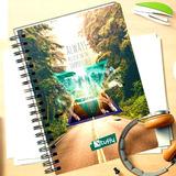 Cuadernos Argollados 5 Materias Cuadriculado 160 Hojas 17x25