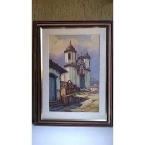 Óleo Sobre Tela, Igreja São José - Walter S. Veiga