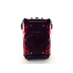 Caixa De Som Amplificadora Portatil Bluetooth Usb Fm A10233