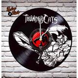 Reloj De Vinilo Retro Thundercats