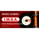 Alambre De Cobre Esmaltado I M S A Medidas 0,30 A 1,50 Mm