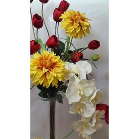 Arreglo Floral Artificial, Yarda De Cristal Decorativa.