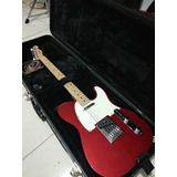 Fender Telecaster Standar Mim Red Candy Apple C/estuche