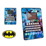 Laptop Computador Tablet Infantil Menino Batman - Promoção