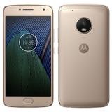 Smartphone Moto G5 Plus,dourado,4g+wifi+nfc,android 7.0,32gb