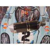 Silenciador De Moto Universal Cañossilen Cs3 (a)
