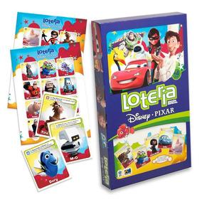 Loteria Disney Pixar Caja Carton Novelty Jca-487