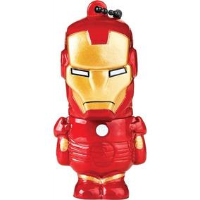 Pen Drive Marvel Homem De Ferro 8gb