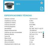 Medio Beyma 6.5 Inch 8 Ohm 80 Wts Rms