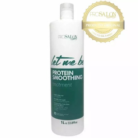 Progressiva Passo Unico Let Me Be Sem Formol 1000ml Prosalon