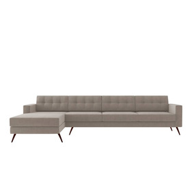 Sofá Novo Lançamento Moderno Barato Style Living Chaise 3 4