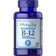 Vitamina B-12  1000mcg 250 Caps - Unidad a $340