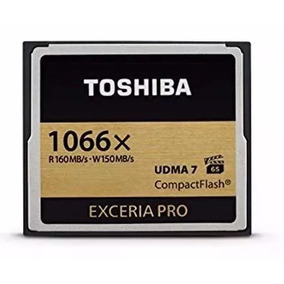 Memoria Compact Flash Toshiba Exceria 32gb Pro 1066 Box