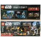 Lego Star Wars 232 Pzs. 2 Paquetes X 1 , Modelo 66555