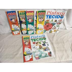 Kit 12 - Pintura Em Tecido - 05 Revistas - Novas