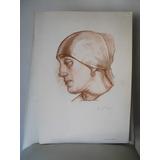 Lamina Grabado Impresa Por Él Mnba Spilimbergo 1925