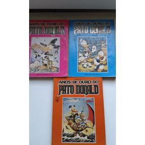 Coleção Anos De Ouro Do Pato Donald (03 Vols.)