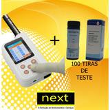Aparelho Analisador De Urina Digital + 100 Tiras De Teste