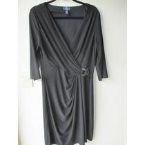 Vestido Preto Malha Plus Size Qualidade Original Importado