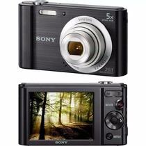 Câmera Digital Sony W800 20.1mp Preta