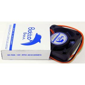 Micro Ventilador 40x40x10 Mm Fan Cooler 12v Dc Mini 40mm 4cm