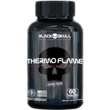 Termogênico Thermo Flame | 60 Tabletes | Black Skull Top