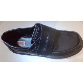 Zapatos Escolares Pocholín Mocasin Talla 37 Cosidos Poco Uso