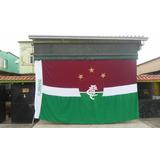 Bandeira Gigante Fluminense 2.90 Altura X 4.90 Comprimento