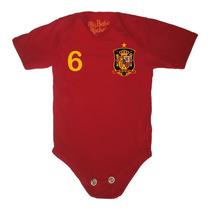 Ropa De Bebe Divertida - Pañalero De España Personalizado