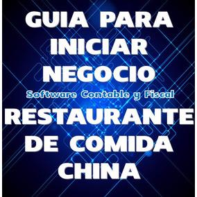 Guia Para Iniciar Negocio Restaurante De Comida China
