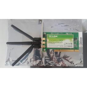 Tarjeta De Red Pci 300mbps 3 Antenas