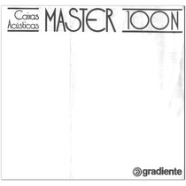 Manual Gradiente Caixas Acústicas Master 100n Cópia