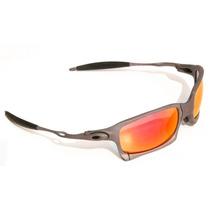 Oculos Xsquared Xmetal - Lentes Ruby - 100% Polarizadas Novo