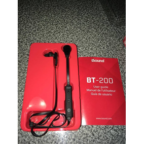 Audifonos Bluetooth Isound Bt-200