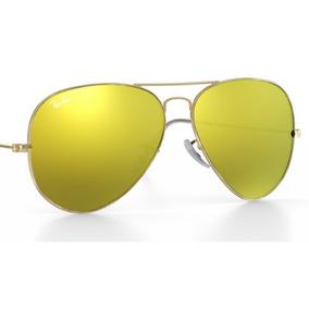 Aparador Espelhado Amarelo De Sol Ray Ban Aviator - Óculos no ... 2a248641e1