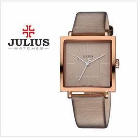 Exclusivo! Reloj Julius Diseño Minimalista + Caja Original