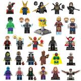1 Minifigura Infinity War Avengers Compatible De Bloques