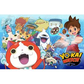 Kit Imprimible Yo- Kai Watch Invitaciones Cotillón Cumpleaño